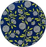 Oriental Weavers 8327L Caspian Round Outdoor/Indoor Area Rug, 7-Feet 10-Inch