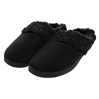 ac8961f008d Amazon.com  Aerosoles Women s Cushioned House Slippers with Rubber ...