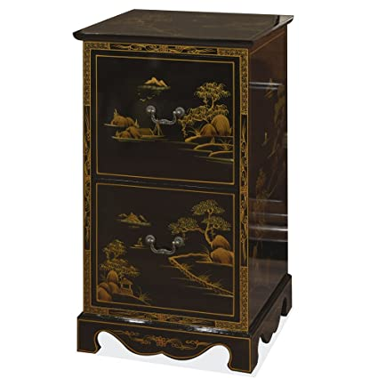 Charmant China Furniture Online 2 Drawer Chinoiserie Scenery Design File Cabinet