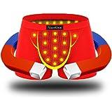 ヴィンスクラン モーダルコットンボクサーパンツ 男性用健康エネルギー磁石下着 通気性も伸縮性もいい  ケース付き