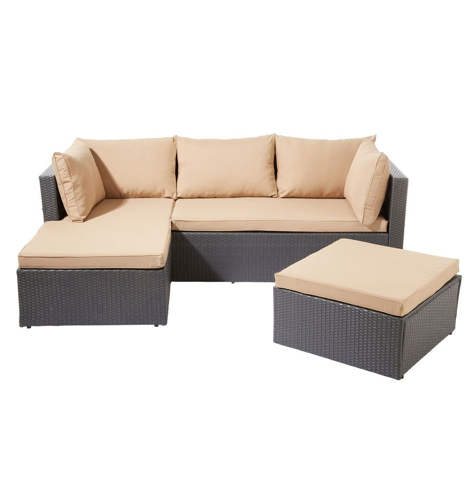 ssitg poly rattan garnitur sitzgruppe lounge m bel sofa. Black Bedroom Furniture Sets. Home Design Ideas