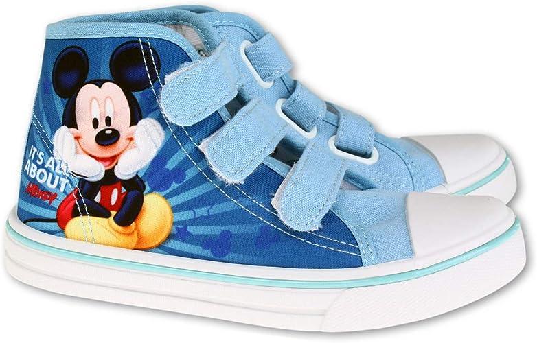 Basket Haute De Ville Garçon Mickey Amazon Fr Chaussures Et Sacs