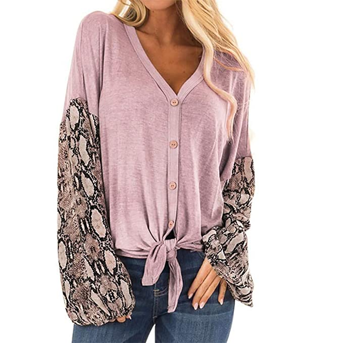 FELZ Blusas de Mujer Elegantes, Camisetas Personalizadas Patchwork, Camiseta Delgada y Holgada Top Sudadera con Ajuste Slim y misteriosa Blusa Tops T Shirt: ...