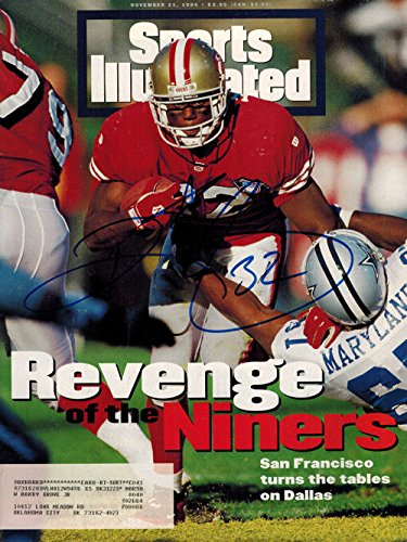 803450c8e Ricky Watters Autographed San Francisco 49ers Nov 1994 Sports Illustrated
