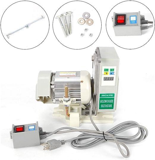 Yiyiby Servomotor - Máquina de coser industrial sin escobillas ...