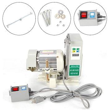 YIYIBY Servomotor - Máquina de Coser Industrial sin escobillas (600 W): Amazon.es: Juguetes y juegos