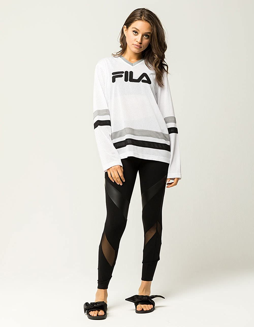 90ba4a7345c Fila Tanya Hockey Jersey: Amazon.co.uk: Clothing