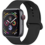 Sport Band Apple Watch Strap for iWatch 40mm 44mm 38mm 42mm, Waterproof Replacement Wristband for iWatch Series 5…