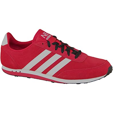 info for afe6c 10237 Adidas V Racer Le NEO Schuhe Sneaker rot-wei  Gr. 40-46