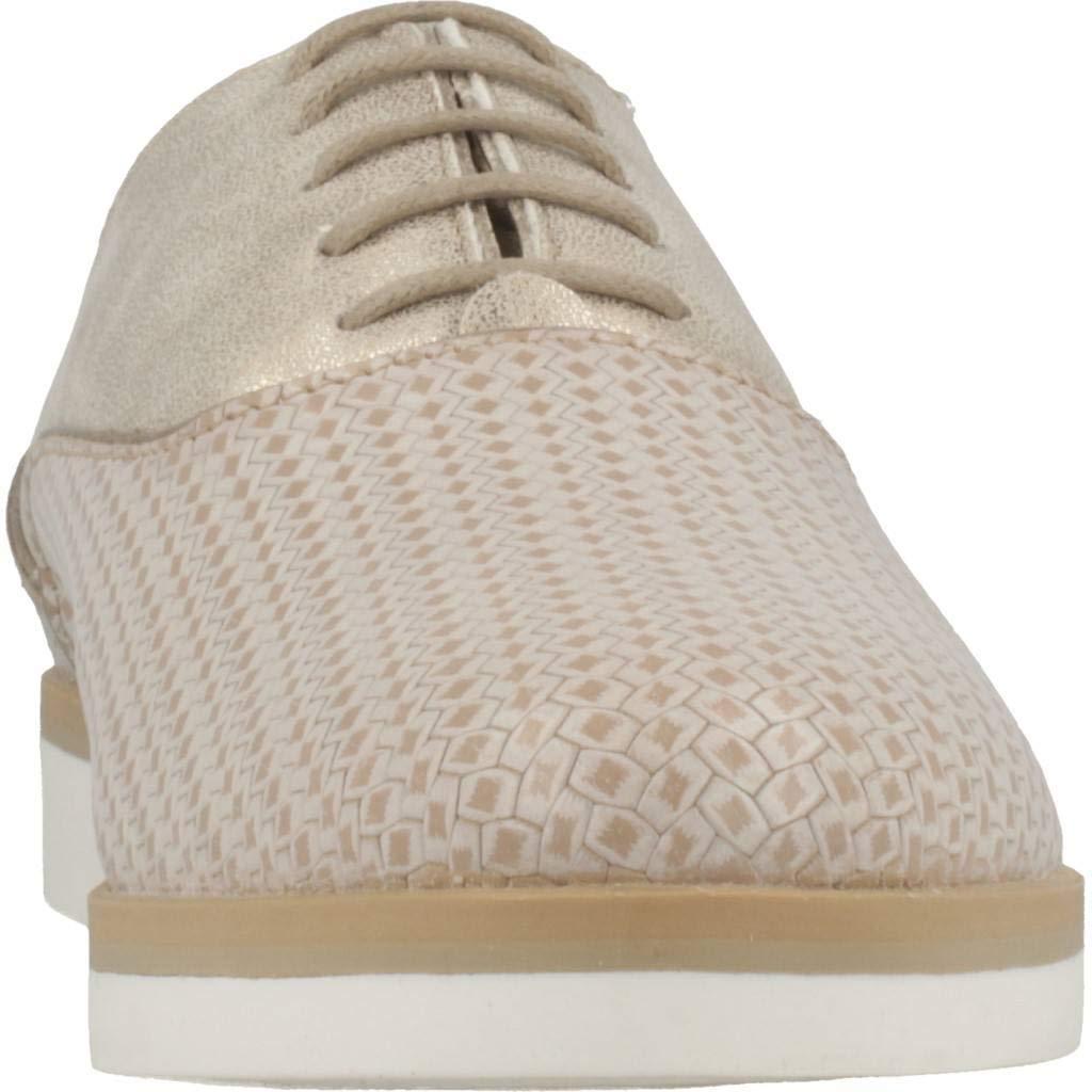 Geox D Janalee A Zapatos de Cordones Derby para Mujer