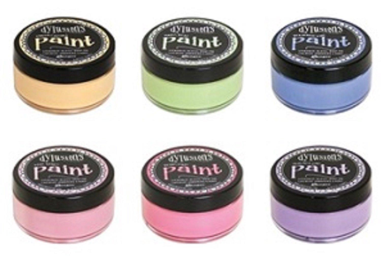 Ranger - Dyan Reaveley - Dylusions Paint - 6 Vibrant Acrylic Paints Bundle FALL 2017 Colors