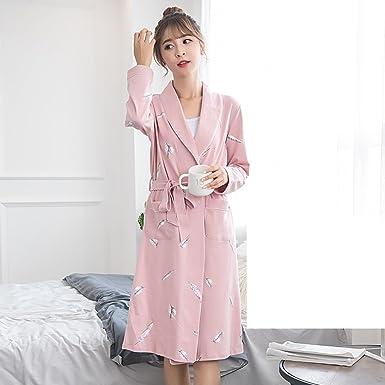Camisón Hombre Algodón Primavera y Otoño Pareja Pijama Bikiní Sexy Mujer Algodón Otoño Hombre s