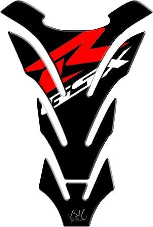 Tankpad Motorrad Draht Muster Tankschutz Polymer Für Suzuki Gsxr 600 750 1000 Rot Auto