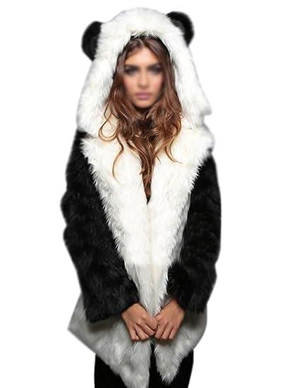 Amazon manteau femme fourrure