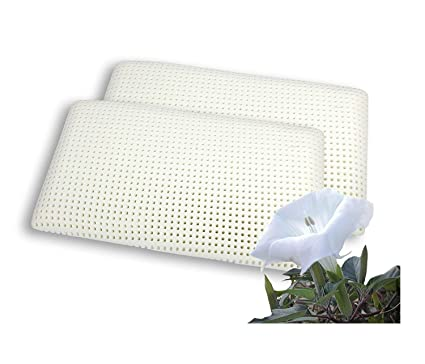 Pair memory foam pillows, breathable, height 6.29