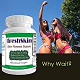 FreshSkin Antiagina Capsules with Phytoceramides 350mg made with Clinically Proven Lipowheat® | Plant Derived and GMO free with No Fillers or Synthetic Vitamins - 30 liquid softgels, Made in USA