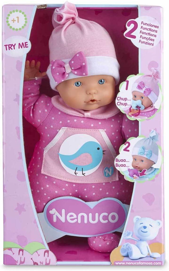 Amazon.es: Famosa 700012663 – Nenuco con Chupete, muñeca, 30 cm ...