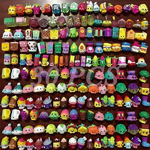 Hot Random Lot Of 30 Pcs Shopkins Of Season 2 3 4 5 Shopkins Figures Toys Kids Good For Christmas Birthday Valentine's Day Gift Brand New