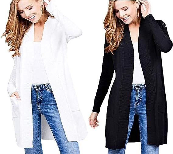 Cielo Women's Long Sleeve Sweater Duster Cardigan