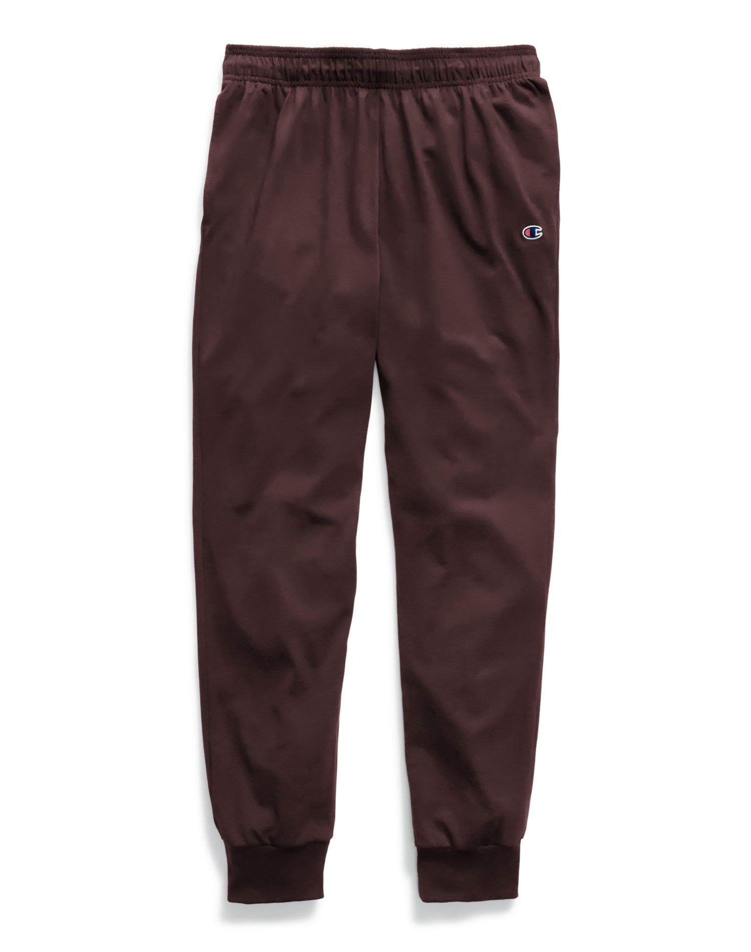 Champion Men's Jersey Jogger, Maroon, Large by Champion