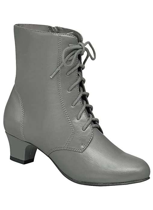 Ladies Victorian Boots & Shoes – Granny boots Womens Adult Angel Flex Jada synthetic $39.99 AT vintagedancer.com