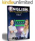 English: Speak Like a Native in 5 Lessons For Busy People, 5 in 1 (English Edition)