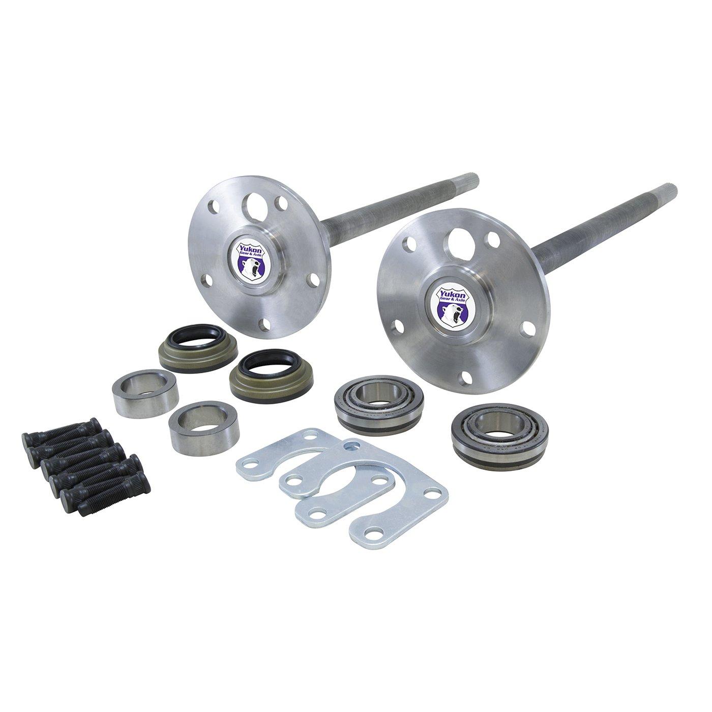 Replacement Axle Kit for Jeep XJ//TJ//YJ Dana 30 Front Differential 4340 Chrome-Moly YA W24110 Yukon Gear /& Axle
