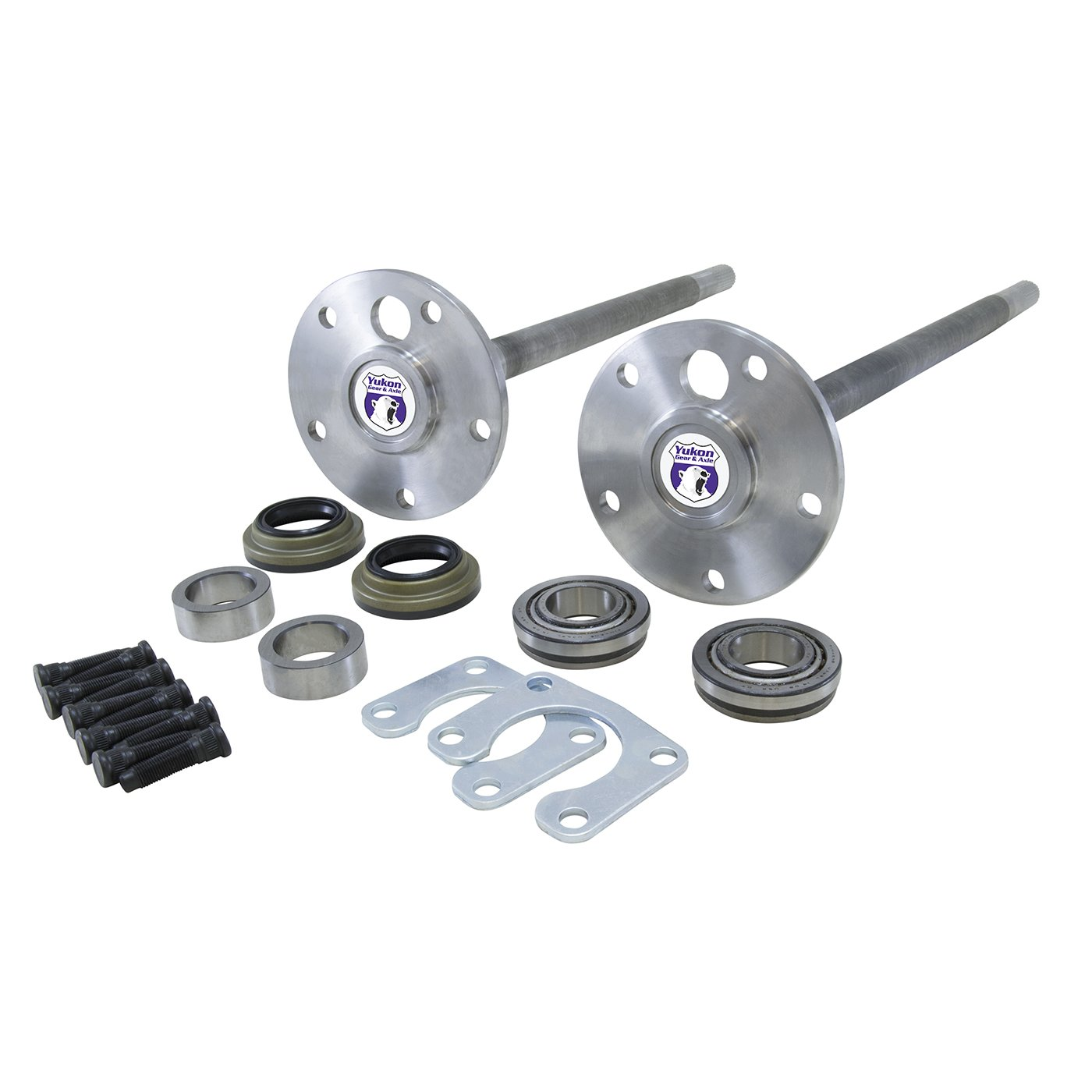 Yukon (YA FBRONCO-1-28) 1541H Alloy Rear Axle Kit for Ford Bronco 9'' Differential with 28 Spline