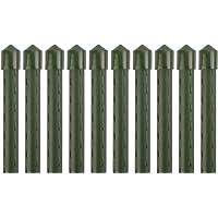 Sekey Soportesde Planta,Cañas jardín, Estantes de Planta,Estacas de Planta,Tubo de Acero Recubierto de plástico 11 mm de…