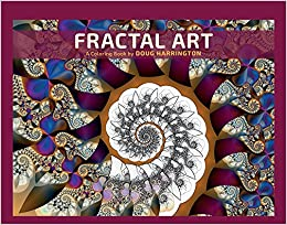 fractal art a coloring book by doug harrington - Fractal Coloring Book