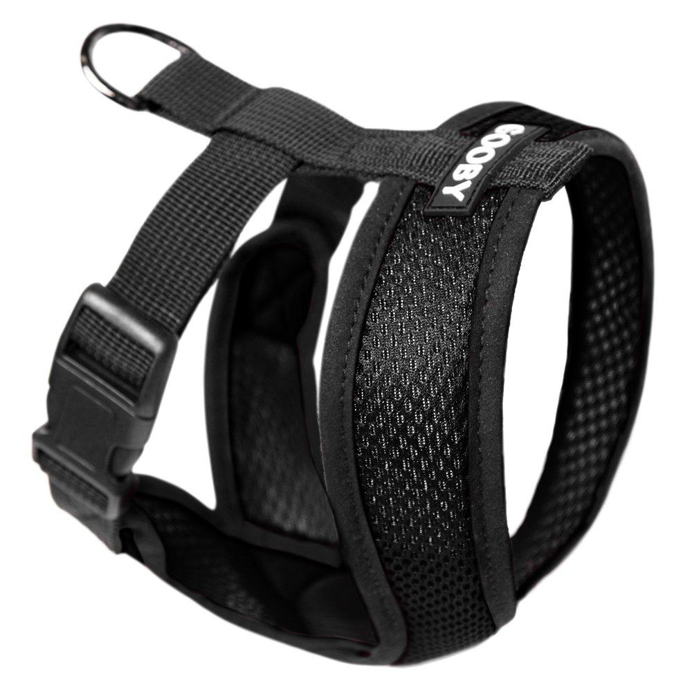 Gooby Choke Free Comfort Soft Dog Harness, Black, X-Large