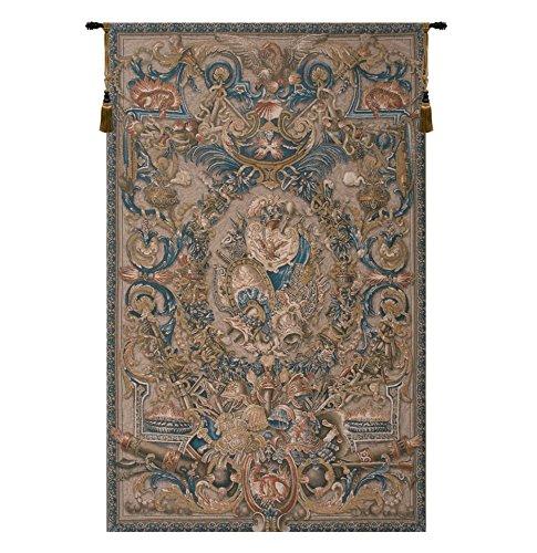 Tapestry, Tall - Elegant, Fine & Wall Hanging - Feu, C-h58xw37