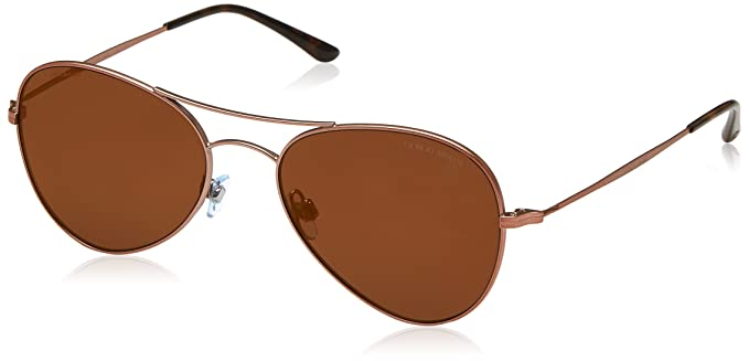 9b6f8e8d117bf Image Unavailable. Image not available for. Colour  Giorgio Armani Mirrored  AR6035-30046H-54 Gold Aviator Sunglasses
