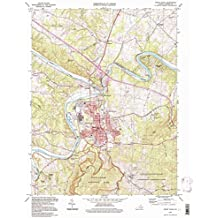 Front Royal VA topo map, 1:24000 scale, 7.5 X 7.5 Minute, Historical, 1994, updated 1997, 26.8 x 21.9 IN