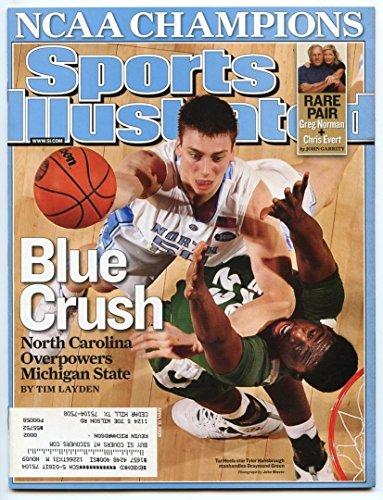 si-sports-illustrated-april-13-2009-blue-crush-tyler-hansbrough-tar-heels-vg