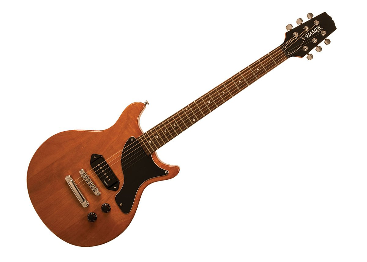 Hamer XT Serie Especial Jr - Guitarra eléctrica, color natural: Amazon.es: Instrumentos musicales