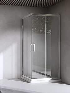 Yellowshop-Box cabina de ducha Baño Cuadrado, dimensiones: 70X70 Cm, Cristal 6 mm: transparente, transparente: Amazon.es: Bricolaje y herramientas