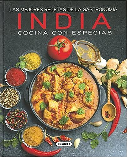 Las Mejores Recetas De La Gastronomía India por Susaeta Ediciones S A epub