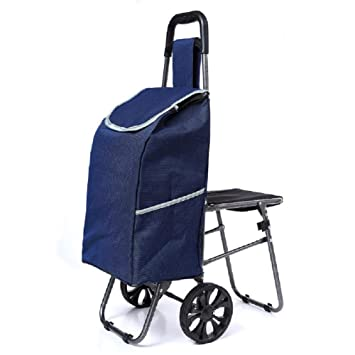 Carretilla ligera plegable de 6 ruedas, Carro de escalada de escalera, Carro utilitario con cojinetes de ruedas, Carro de la compra , 6: Amazon.es: Deportes ...
