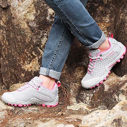 Tempo Scarpe Escursione Libero Scarpa Running Viaggio Per Invernali Antiscivolo Donna Ashop Da Donna Il Stivali Rosa Trekking 7fP4fRn