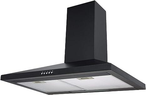 Sia ch71bl 70 cm chimenea Campana Cocina Ventilador Extractor En Negro: Amazon.es: Grandes electrodomésticos