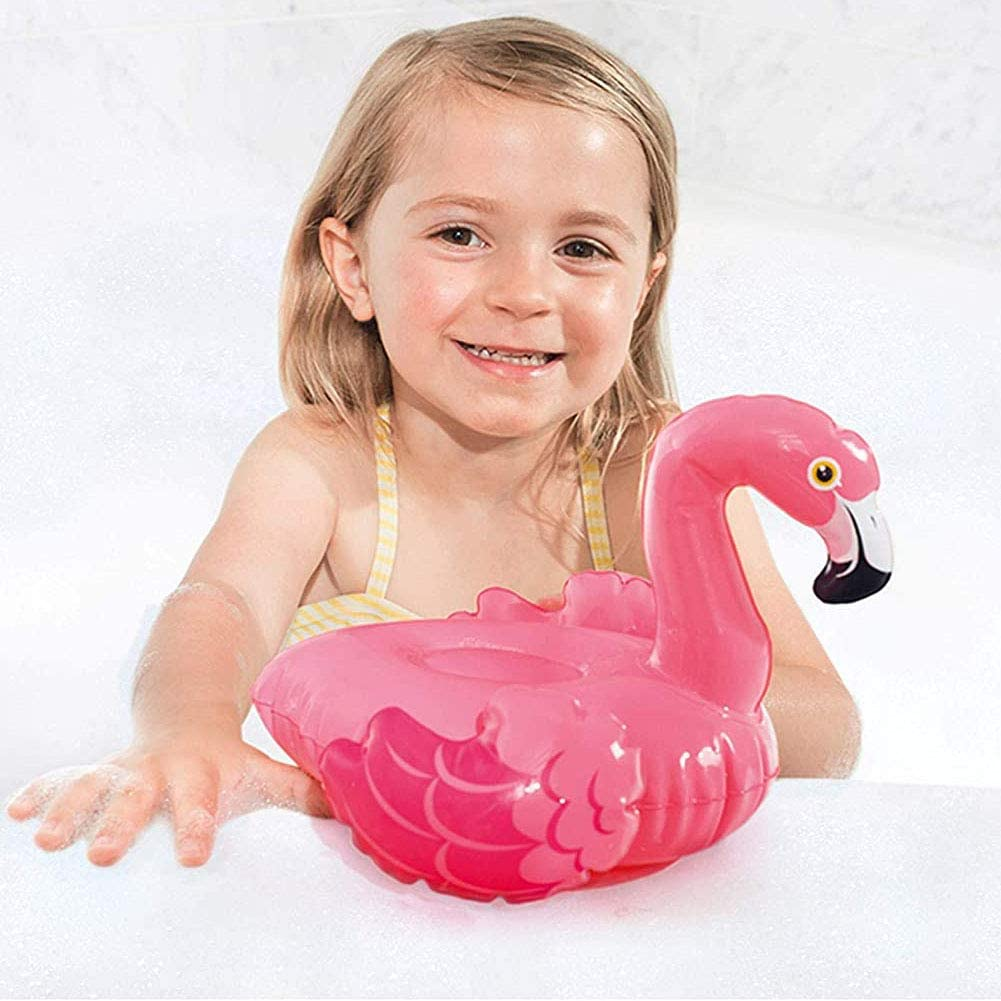 WENTS Arm Floaties Inflatable Swim Armbands Float Roll up Sleeves with Inflatable Drink Holders for Children Adult Kids learning Swimming Float Swimming Ring