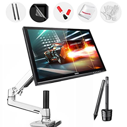 Amazon com: Ugee 19 Inch Graphics Pen Tablet Monitor with 360 Degree