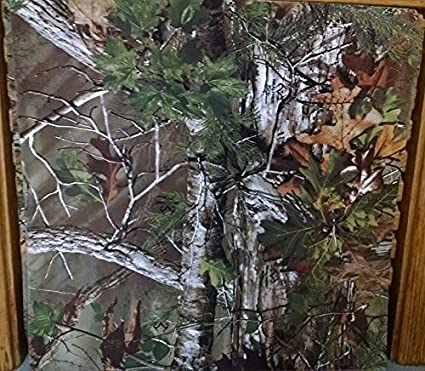 Amazon Realtree Green Camo Camouflage 12x12 Scrapbook Paper 4