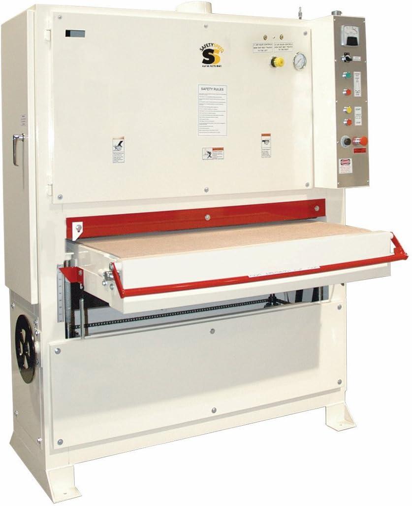 Safety Speed Cut 4375 WBS4375101 10HP Wide-belt Sander