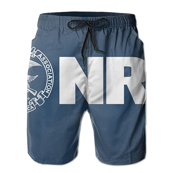 Amazon.com: cjhxqt NRA asociación – Bañador para hombre ...