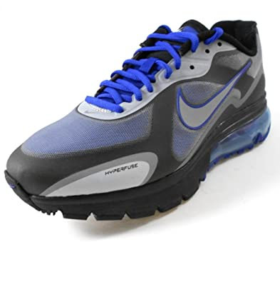 new product be276 3042f Amazon.com  Nike Air Max Alpha 2011+ Mens Running Shoe 454347-401  Drenched BlueMetallic Silver-Black Mens Shoes 454347-401-12  Running