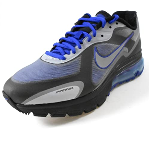 Nike Air Max Alpha 2011+ Mens Running Shoe  454347-401  Drenched Blue Metallic  Silver-Black Mens Shoes 454347-401-12  Amazon.co.uk  Shoes   Bags 3f51299b0148