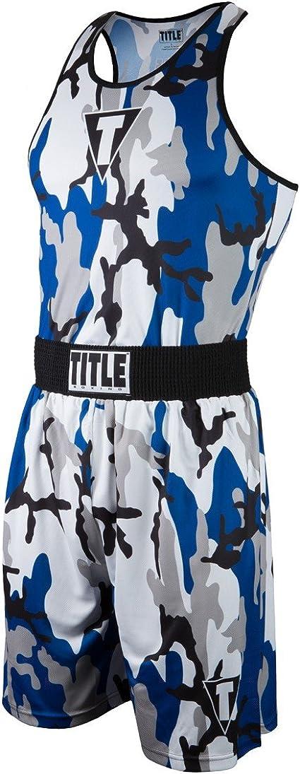 Title Aerovent Elite Amateur Boxing Shorts Singlet Set