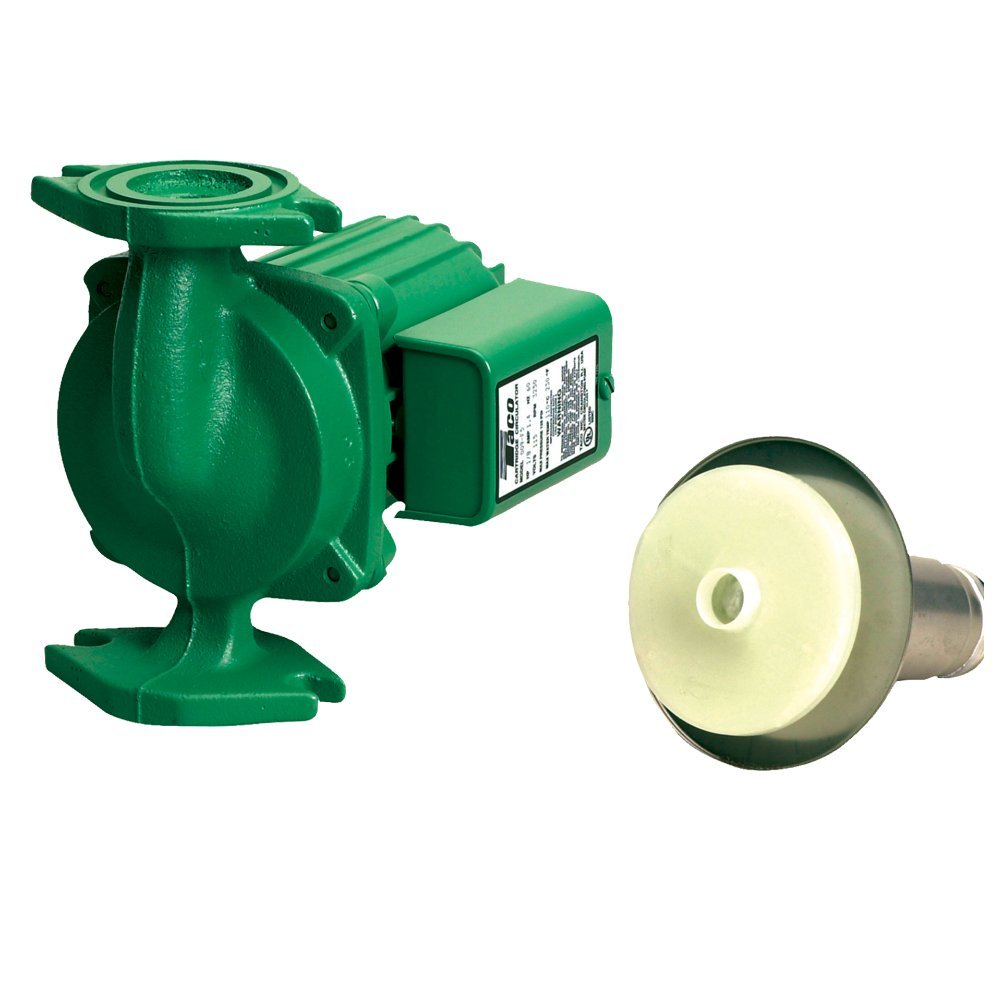 Taco 009-BF5-J Circulating Pump Cast Iron with Bronze Cartridge for longer life then standard 009-F5. by Taco
